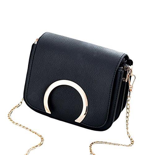 KYFW Frauen Umhängetasche Mode Kette Tasche Messenger Bag Wild Damen Tasche C