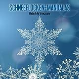 Malbuch mit Schneeflocken-Mandalas für Erwachsene 1