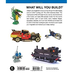 The LEGO Adventure Book Volume 1: Cars, Castles, Dinosaurs & More!