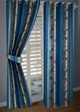 KANHA 2 Piece Polyester Curtains -9 ft ,...