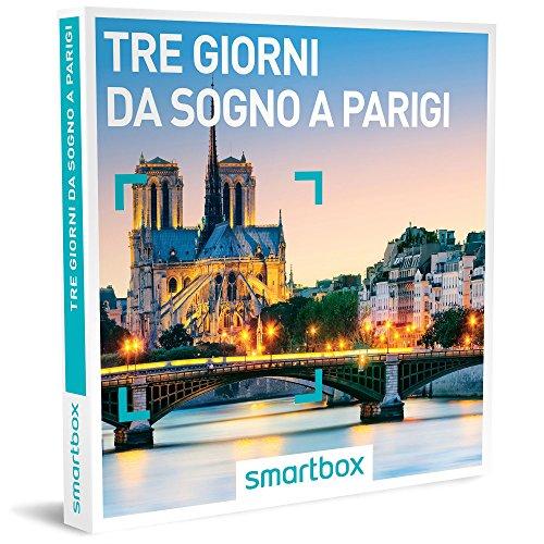 Smartbox cofanetto regalo - tre giorni da sogno a parigi - 15 soggiorni in hotel 3* e 4*