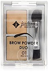 Jordana Brow Powder Duo, Light