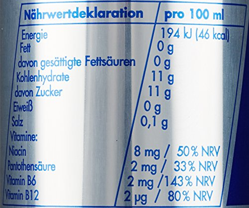 Red Bull Energy Drink 24 x 250 ml Dosen Getränke 24er Palette