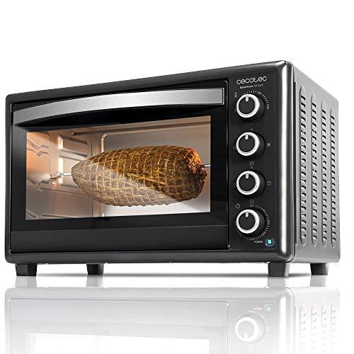 Cecotec Horno Conveccion Sobremesa Bake&Toast 750 Gyro. Capacidad de 46 litros, 2000 W, 12 Modos, Temperatura...