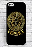 Iphone 6/6S Plus Case Versace Brand Logo Style Print for Girl, Cool Case Iphone 6/6S Plus (5.5 Inch) Case Cover Solid Floralmaycase