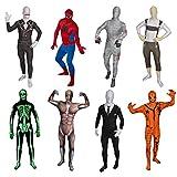 Original FUNSUIT - Disfraz de segunda piel (pegado al cuerpo) Músculos Carnaval Halloween - Talla S / M / L / XL / XXL [M] - Varios diseños
