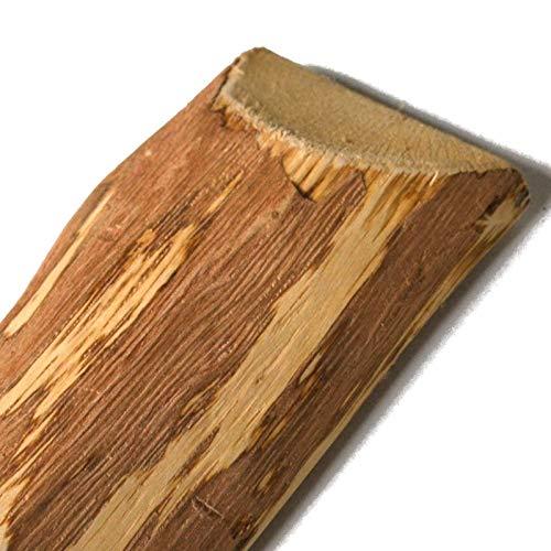 Zaunlatten aus Haselnuss • Zaunbretter zum Selbstbauen von Holzzaun, Lattenzaun, Staketenzaun bzw. Kastanienzaun (60cm)