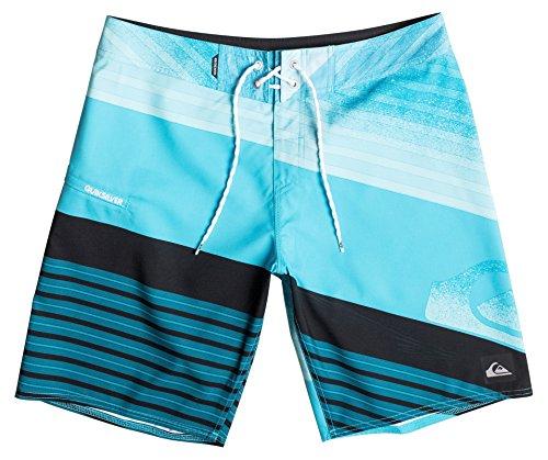 Quiksilver Inclinelogo19 M Bdsh Bmj6-Pantaloncini da bagno Uomo    Blu (Hawaiian Ocean) XXX-Large