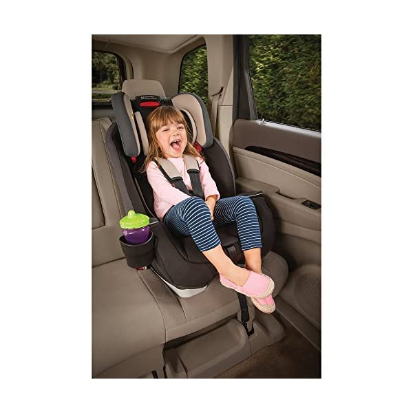 Graco Milestone All-in-One Car Seat, Group 0+/1/2/3, Aluminium Graco Group 0+/1/2/3 can be used for kids from birth up to 12 years of age Easily converts to and from the three riding modes The headrest can be adjusted easily with one hand to grow with your child 6