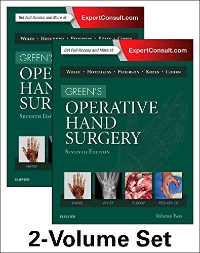 Green's Operative Hand Surgery, 2-Volume Set, 7e by Scott W. Wolfe MD (2016-05-12)