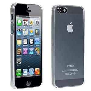 TRIXES Durchsichtige iPhone Silikon-Hülle zum Schutz von iPhone 5 5G 5S