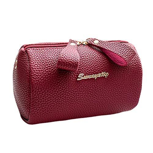 8efeeb83e3 iHENGH Zaino Moda Casual In Pu Pelle Per Donna Borsa A Mano Shoulder  Shopping Partito Bag