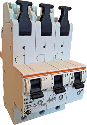 Schalter XKS335–5Shu + Adapter 3pol. 35A