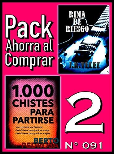 Pack Ahorra al Comprar 2 (Nº 091): 1000 Chistes para partirse & Rima de Riesgo