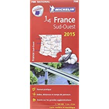 Carte France Sud-Ouest 2015 Michelin