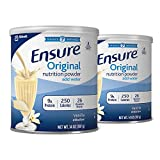 Ensure Nutrition Powder, Vanilla, 14-Ounce, 2 Count, 14 Servings (Packaging May Vary)