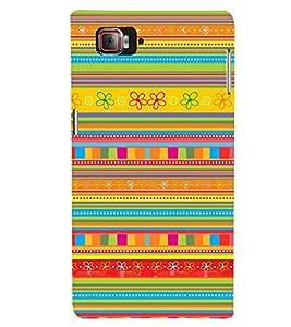 Printvisa Multicoloured Ethenic Pattern Back Case Cover for Lenovo Vibe Z2 Pro K920