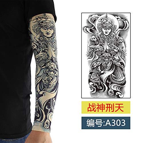 Blumen Des Krieges Kostüm - JinRui-Sport Tattoo Sleeve Ice Silk Nahtlose