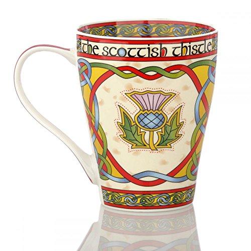 Eburya The Scottish Thistle Mug - Kaffeebecher aus Keramik mit schottischer Distel