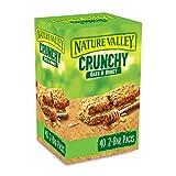 Nature Valley - Barres de cereales Avoine et Miel - Pack de 40 - 2 barres par pack