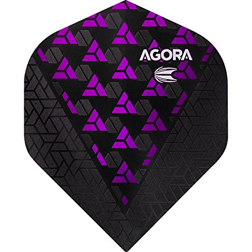 Target Agora Ghost Dart Flights–Vision Ultra–No2STD–Lila–5sets (15) (Ghost Darts)