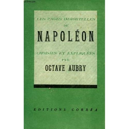 Les pages immortelles de napoleon