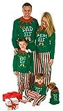 Made By Elves Elf Pyjamas Christmas Family PJS - Dad, Mum,...