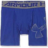 Under Armour Armour Mid Pantalones Cortos, Niños, Royal Graphite (400), Youth Small