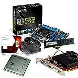 tronics24 PC Aufrüstkit | AMD FX-6300 6x 3.5GHz Hexa-Core | 4GB DDR3-RAM PC-1333 | AMD Radeon R7 240 2GB | Asus M5A78L-M LX3 Mainboard mit AMD 760G Chipset | Gigabit-LAN | Soundkarte
