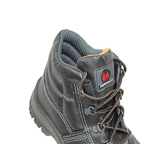 Aimont S3 SRC Sicherheitsschuhe Arbeitsschuhe Berufsschuhe hoch B-Ware Schwarz