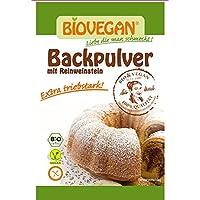 Bio Vegan Back polvo 4x l750d-17g bio Back ingrediente, 12unidades (12x 68g)