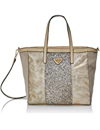 XTI  85814, Sac pour femme à porter à l'épaule doré 13x30x47 cm (W x H x L)