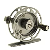 EDTara Ice Fishing Reels Right Handed Aluminum Alloy Smooth Rock Fish Line Wheel