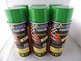 Dupli Color Sprayplast Abziehlack Sprühfolie grün glänzend 388071 6x400ml Spraydosen insgesamt 2400ml