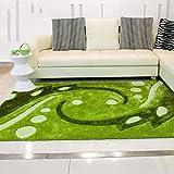 Creative Light- Moderne pastorale grüne erfrischende Sofa Wohnzimmer Teppich Elastische Draht Couchtisch Matten Mode Teppiche ( größe : 1.2*1.7m )