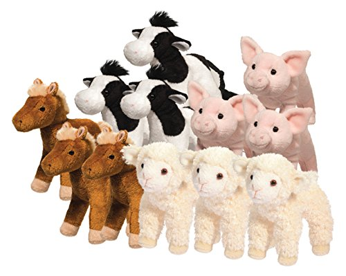 Cuddle Toys 1510L LAMB with sound Lamm Schaf mit Sound Chip Kuscheltier Plüschtier Stofftier Plüsch Spielzeug (Spielzeug Lamm)