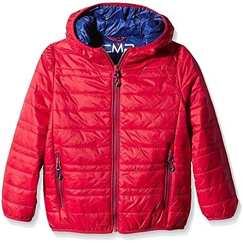 CMP F. Lli Campagnolo - Chaqueta de esquiar juvenil Primaloft, todo el año, niño, color Rojo - Lacca-Olimpico, tamaño 15 años (164
