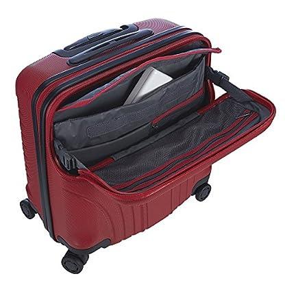 51jenYRpBuL. SS416  - Hedgren HFO06W / 779-01 Fórmula Uno maleta, 42 cm, 38 litros, Negro / combo Red