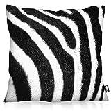 VOID Zebrafellmuster Kissenbezug Kissenhülle Outdoor Indoor Zebra, Kissen Größe:50 x 50 cm