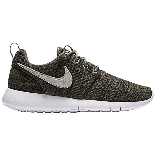 Nike Youth Roshe One Grade School Dark Stucco Fabric Trainers 38 EU