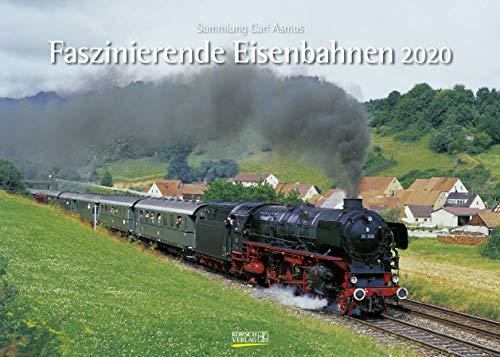 Faszinierende Eisenbahnen 2020: Din A3 Wandkalender. Bildkalender zum Thema Züge