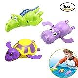 Baden Spielzeug Uhrwerk Schwimmen Tier Bad Spielzeug 3 Stück(3 Stück)