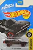 Hot Wheels 2017 Experimotors '70 Dodge Charger Fast & Furious Black...