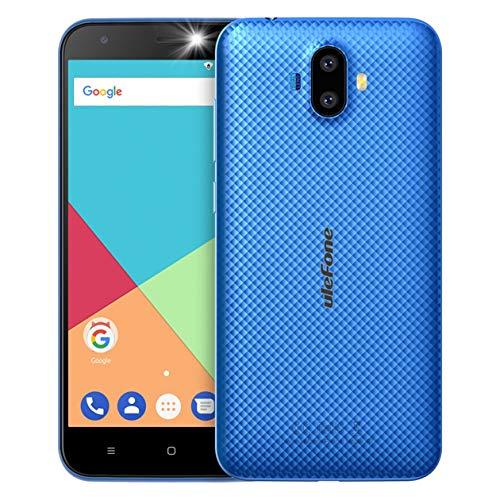 Ulefone S7 5.0 Pulgadas Android 8.1 Smartphone 8MP Dual Camera 8GB Quad Core con Capacidad de batería de Enchufe de la UE 2500mAh