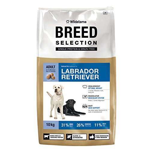 Artikelbild: Wildsterne Breed Selection Labrador Retriever, 10 kg, 1er Pack (1 x 10000 grams)