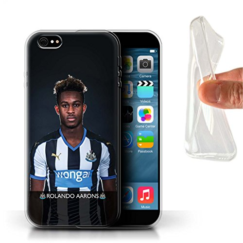 Offiziell Newcastle United FC Hülle / Gel TPU Case für Apple iPhone 6S+/Plus / Pack 25pcs Muster / NUFC Fussballspieler 15/16 Kollektion Aarons