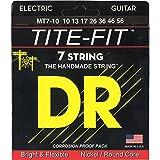 DR Strings TITE-FIT 7 10-56 Jeu de Cordes pour Guitare Electrique