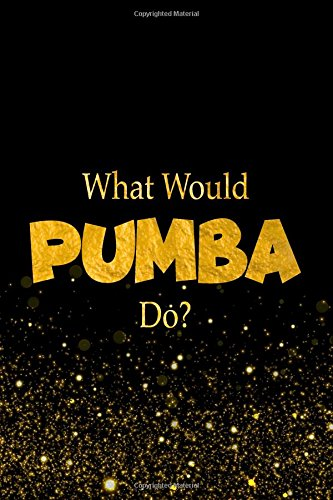 What Would Pumba Do?: The Lion King Characters Designer Notebook