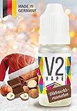 V2 Vape E-Liquid Weihnachtsmärchen Winter Special ohne Nikotin - Luxury Liquid für E-Zigarette und E-Shisha Made in Germany aus natürlichen Zutaten 10ml 0mg nikotinfrei