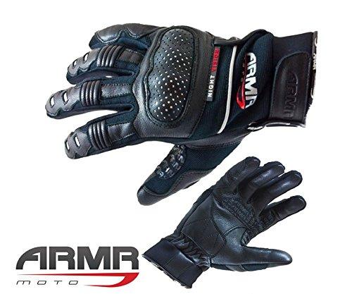 Guanti Moto - ARMR SP16 Uomini Moto Guanti Racing, Guanto, Guanti brevi (S)